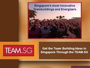 Get the Team Building Ideas in Singapore Through the TEAM.SG