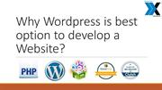 Why Wordpress development services is best for website creation