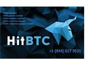 Hitbtc support number +1-844-(617)-9531
