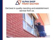 Best Roller Shutter in London