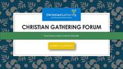 What Is Christian Gathering