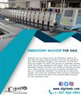 Embroidery Machine For Sale