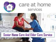 Senior Home Care And Elder Care Service