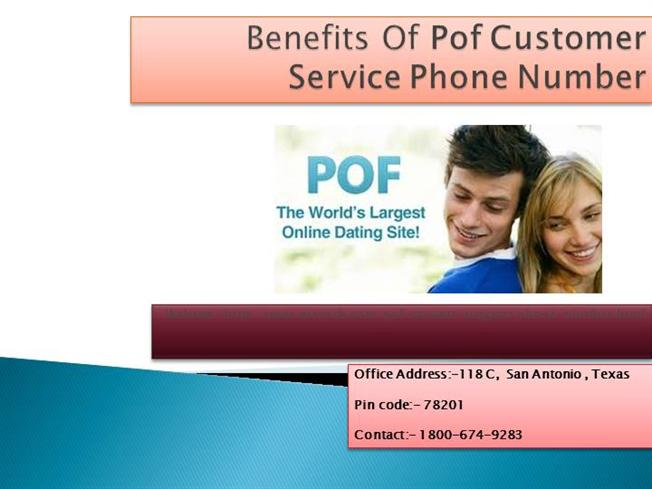 number for pof customer service