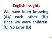 English Insights-When V+ing is not used
