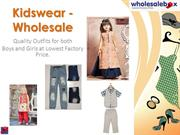 Kids Wholesale Clothing | wholesale childrens clothing distributors