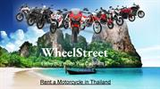 Motorcycle on Rent in Pattaya