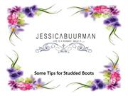 Some Tips for Studded Boots