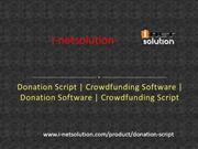 Donation Script | Crowdfunding Software | Donation Software