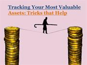 Tracking Your Most Valuable Assets Tricks that Help