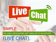 Looking To Buy Simple Secure WhatsApp Clone Script At Affordable price