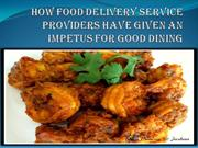 Food Delivery Service Providers