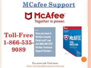 McAfee Support Number 1-866-535-9089 Available any time support