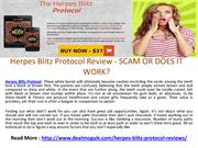 Herpes Blitz Protocol Review - SCAM OR DOES