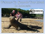 Welcome To  Komodo Tour Island In Indonesia