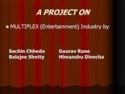 FA Project on Multiplex Industry.