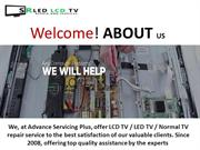 LED LCD TV Repair Service Center in Delhi NCR