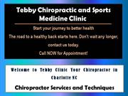 South Charlotte Chiropractic Clinic | Charlotte Chiropractic NC