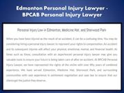 Sherwood Park Personal Injury Lawyer