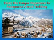 Enjoy The Unique Experience In Annapurna Circuit Trekking