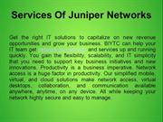 Services Of Juniper Networks