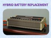 Hybrid battery conditioning can save your money