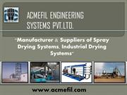 Spray manufacturers in Ahmedabad, india