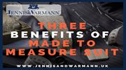 Three Benefits of Made to Measure Suit