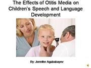 The Effects of Otitis Media on Children�