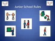 Junior School Rules- presentation