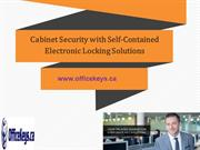 Cabinet Security with Self-Contained Electronic Locking Solutions