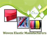 Woven Elastic Manufacturers