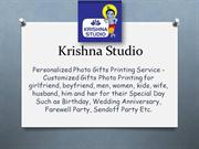 Krishna Studio-Personalized Photo Gifts for Mugs,Calender,Pillows, Tsh