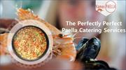 Paella Catering Services in UK