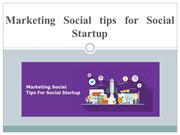 Marketing Social tips for Social Startup