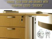 Handle your door and drawer with Furniture locks-qilocks