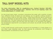 Tall ship model kits