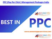 PPC (Pay Per Click ) Management Packages