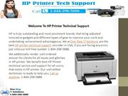 Get Best HP Printer Customer and Technical Support - 1-844-298-5888