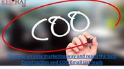 COO Email List, Chief Operations Officers Email List, COO Mailing List