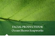 Facial products for ocean shores soapworks