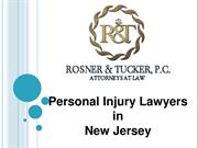 Rosner Law Personal Injury Attorney New Jersey