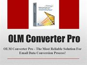 Convert OLM to MBOX Free
