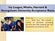 Ivy League Acceptance Rates