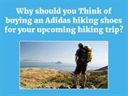 Buying an Adidas hiking shoes for your upcoming hiking trip