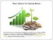 Best money saving techniques