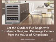 Let the Outdoor Fun Begin with Excellently Designed Beverage Coolers