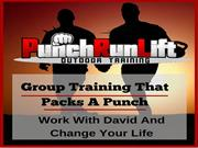 PunchRunLift  Group Training That Packs A Punch