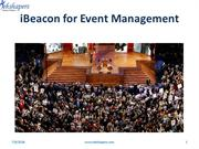 What is iBeacon for Event Management?