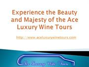Experience the Beauty and Majesty of the Ace Luxury Wine Tours